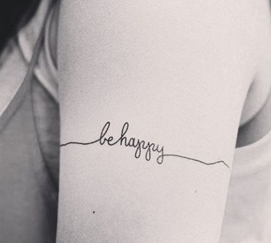 21 Unique Short Tattoo Quotes for Women - Tattoo Design Gallery